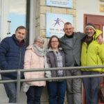 Bernard Michael Hull i misjonarze Open Doors w Domu na Granicy